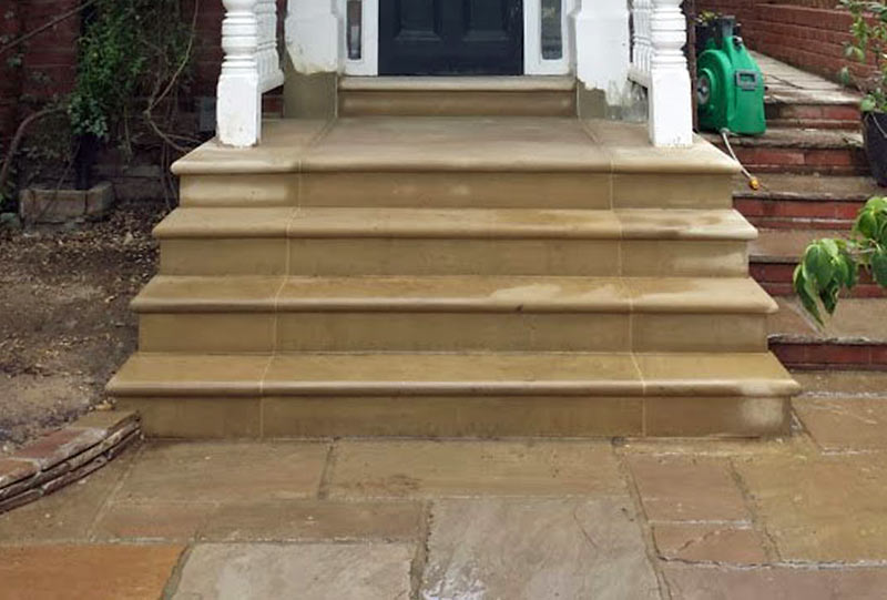 Highgate stone steps build